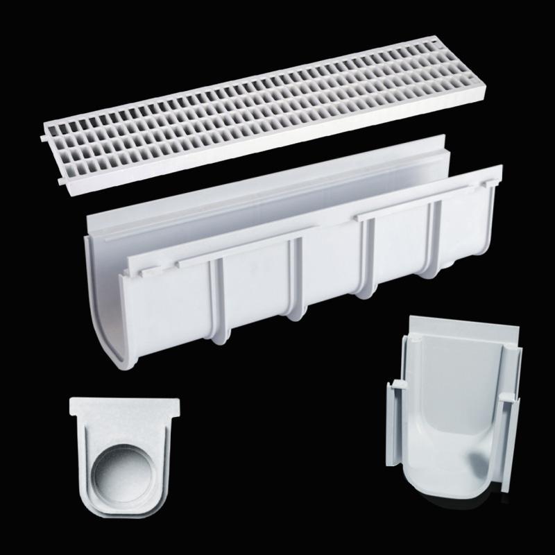 Griglie e raccolta acque griglie per raccolta acque roma for Linee d acqua in plastica vs rame