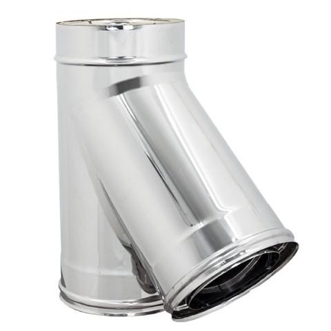 Accessori fumisteria acciaio inox roma vendita online for Raccordo in acciaio verticale