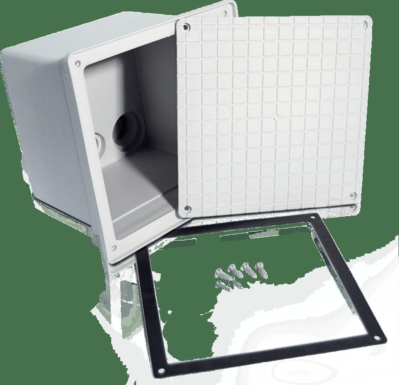 Pozzetto In Pvc Per Cavi Elettrici A Tenuta Stagna