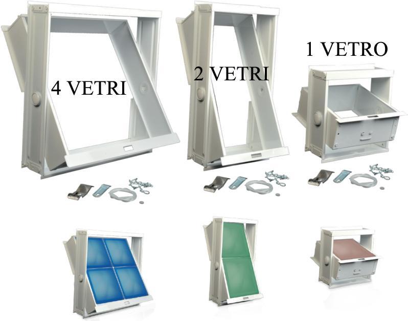 Arredamento roma vendita online formella finestra per - Finestra in vetrocemento ...