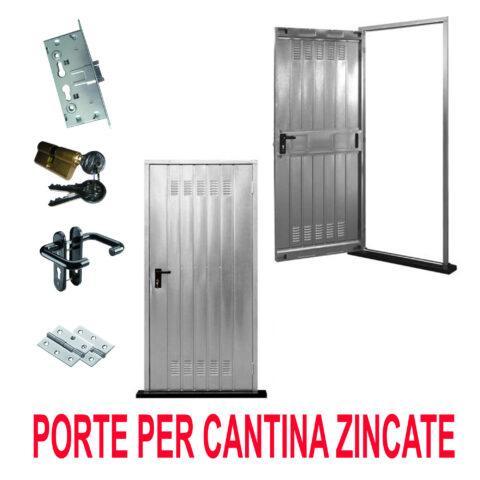 ARREDAMENTO Roma: Vendita online PORTE PER CANTINA LAMIERA ZINCATA ...
