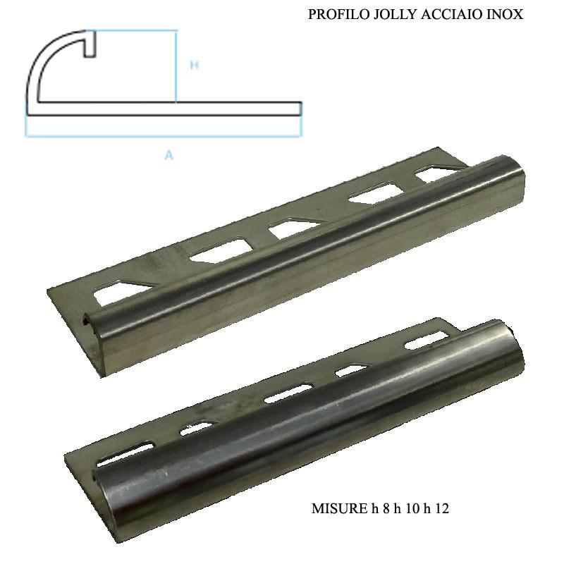 Accessori per pavimenti e rivestimenti roma vendita - Profili jolly per piastrelle ...